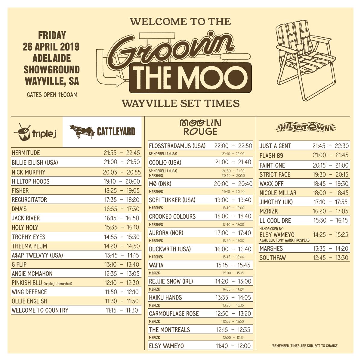 Wayville - Groovin the Moo