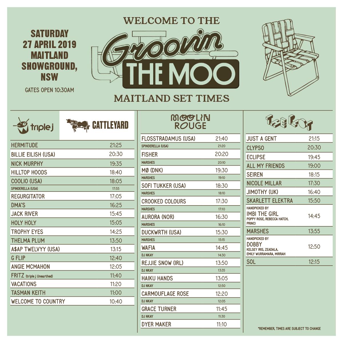 Bendigo - Groovin the Moo